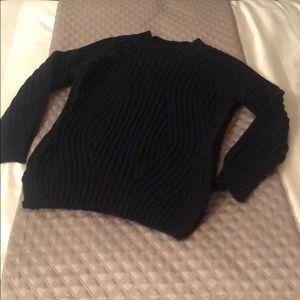 True Religion Knit Sweater - Navy Blue